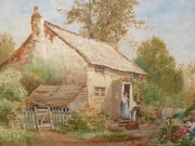 Listed artist Alan Wilkinson F