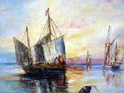 Oil  Marine seascape Listed Ar