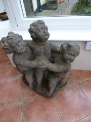 Three putti Manner of Jan Pier