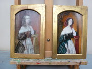 Two Regency Oil portraits  ivo