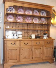 large farmhouse pine dresser