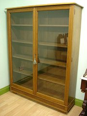 Solid Oak Bookcase C 1900