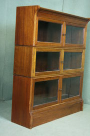 Mahogany Stacking Library Book