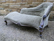 William IV Rosewood Chaise Lon