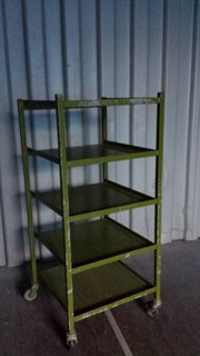Retro Industrial Iron shelving