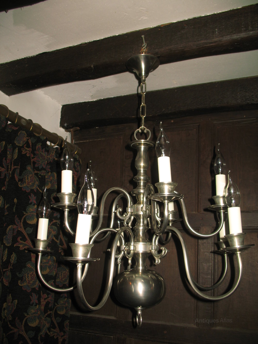 Silver plated chandeliers flemish chandeliers arubaitofo Gallery