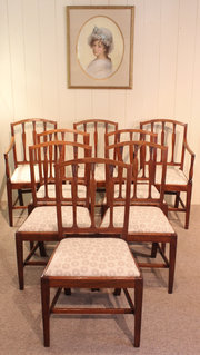 Set of Eight 18th Century Maho