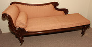 William IV Rosewood Chaise