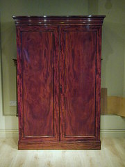 Twodoor 19th century wardrobe