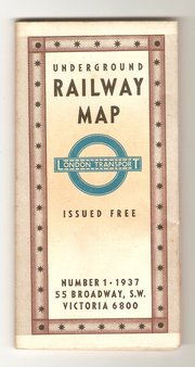 London Underground Map No1 193