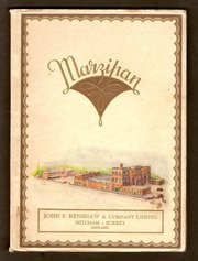 Renshaw  Co Marzipan Catalogue