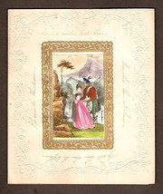 Scottish Victorian Valentine c