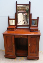 Late Victorian Dressing Chest