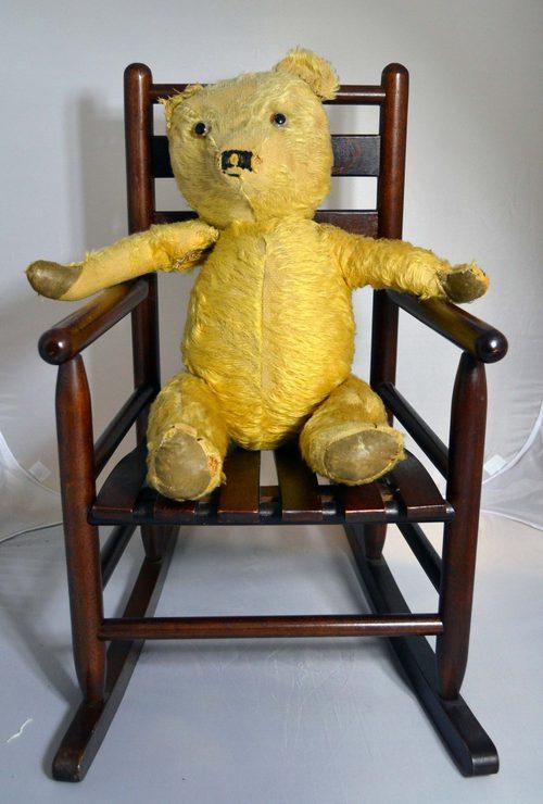 Antiques Atlas Teddy Bear 39 S Rocking Chair