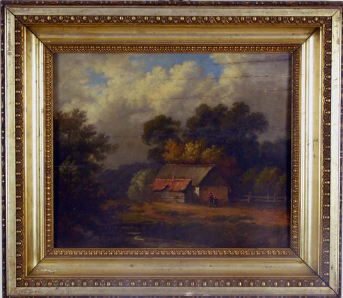 The Old Barn, Henry Bright