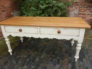 Victorian Pine Harvest Table