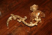 Pair of Gilded Bronze Candleab