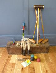 Croquet Set By Jacques