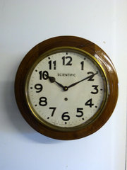Indian Scientific School Clock
