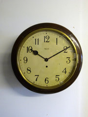 Smiths Enfield Railway Clock