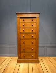 Victorian Oak Wellington Chest