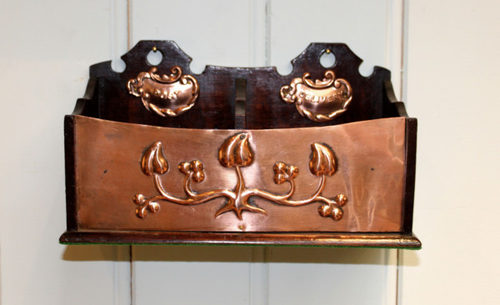 Antiques Atlas - Arts And Crafts Letter Rack (England, C ...
