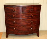 Early 19th Century Mahogany Bo