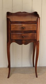 French Cherrywood Two Drawer B