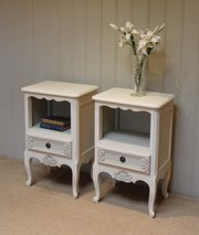 Pair Of 1920s Painted Bedside