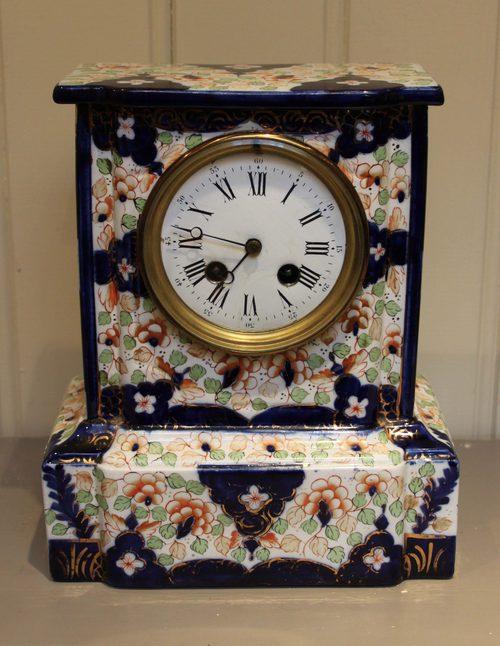 Antiques Atlas Unusual Ceramic Mantel Clock