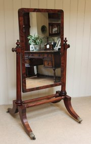 Victorian Mahogany Low Cheval