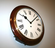 15 Mahogany Railway Time Piece