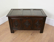Charles II Oak Church Coffer c