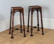 Pair of Mahogany Chippendale S