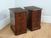 Pair of Victorian Flame Mahoga