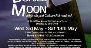 THE BURIED MOON  Miranda and Caliban reimagined By Laura Turner