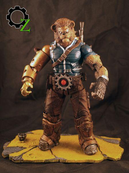 Steampunk Wizard Of Oz Models
