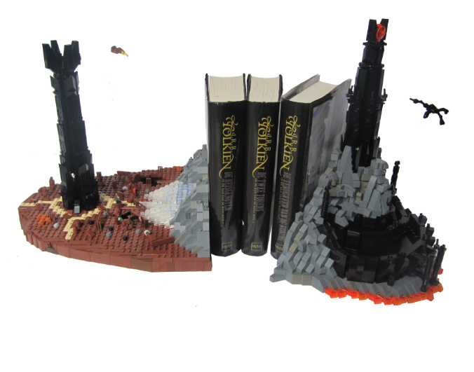 LEGO LotR bookends