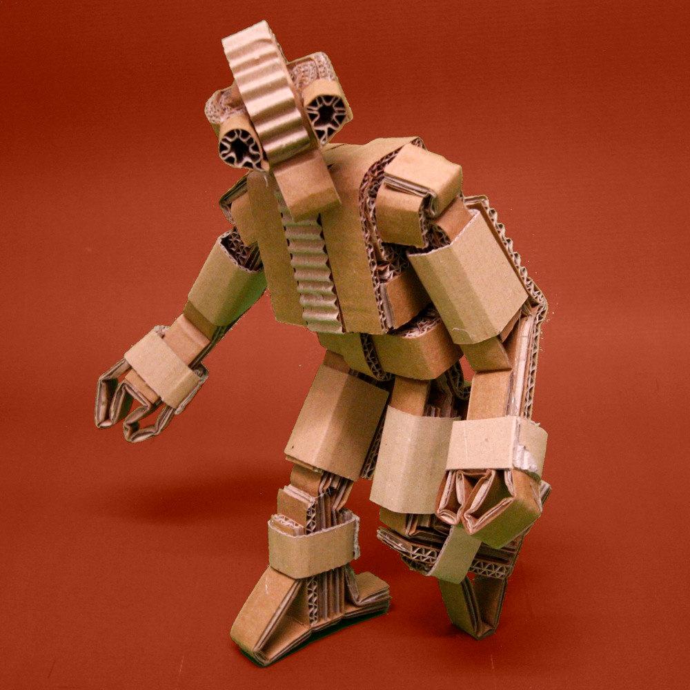 Как сделать своими руками робота из картона своими руками 72