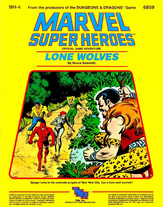 Lone Wolves cover
