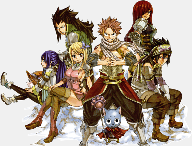 new Fairy Tail designs 1