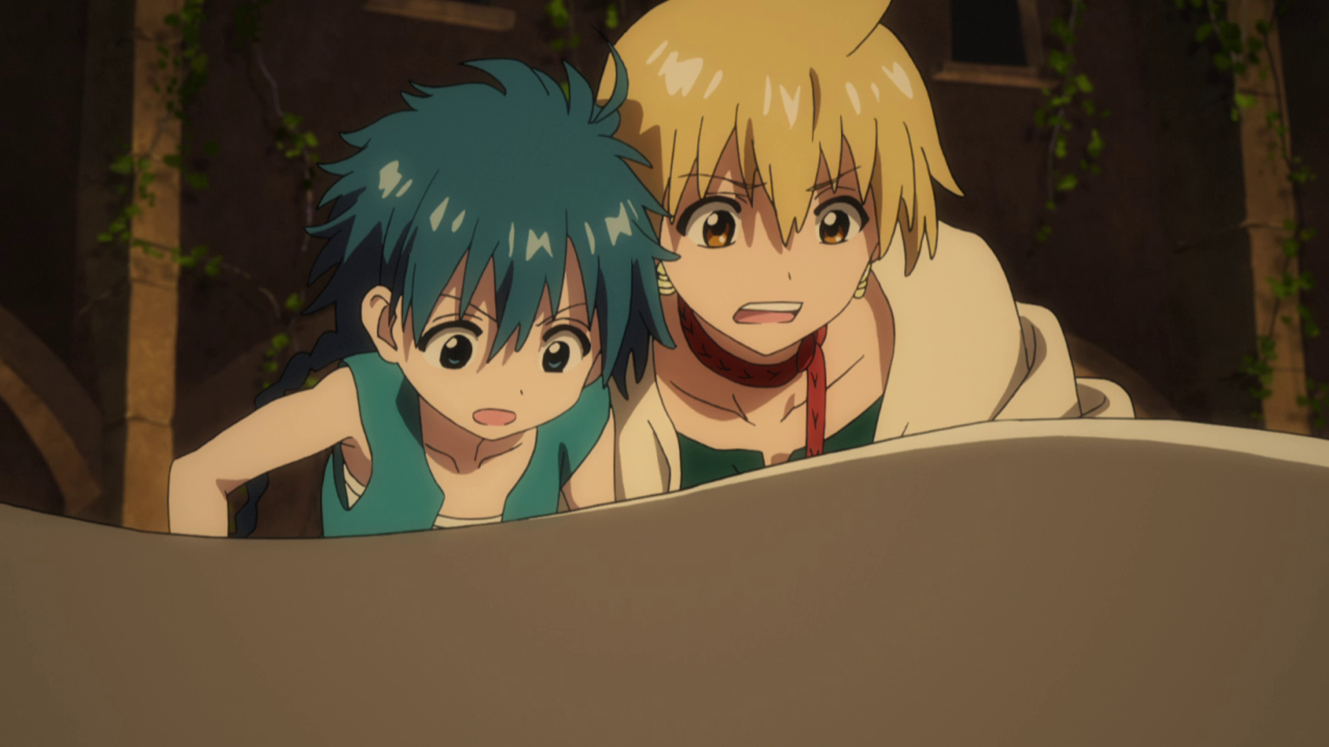 Odd but catchy A review of Magi  The Labyrinth of Magic
