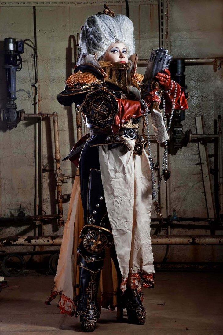 Celebrities: Epic Warhammer 40k Cosplay Photo