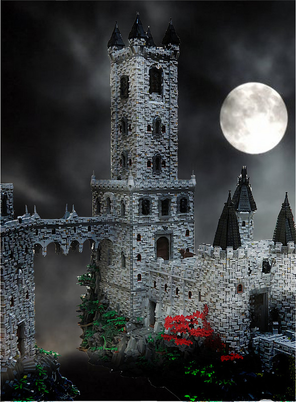 Yes That Steampunk Vampire Castle Made From Lego
