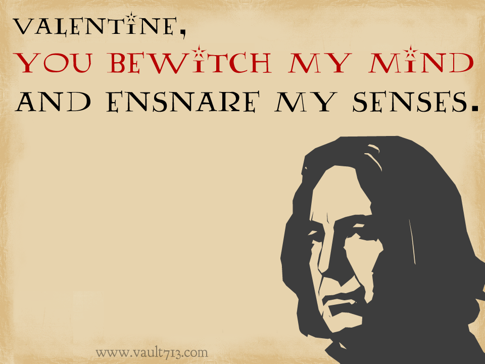 Harry Potter Valentines Day Cards 2