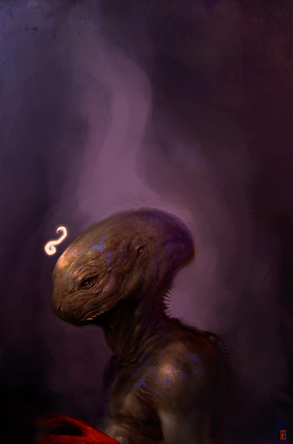 Markus Lovadina's creatures and characters 1