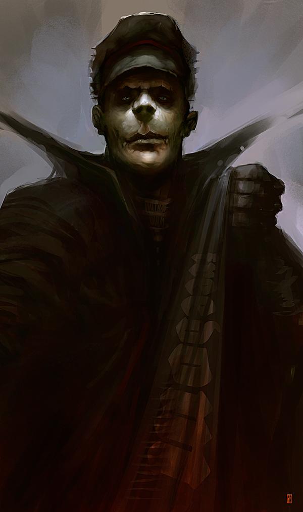 Markus Lovadina's creatures and characters 18