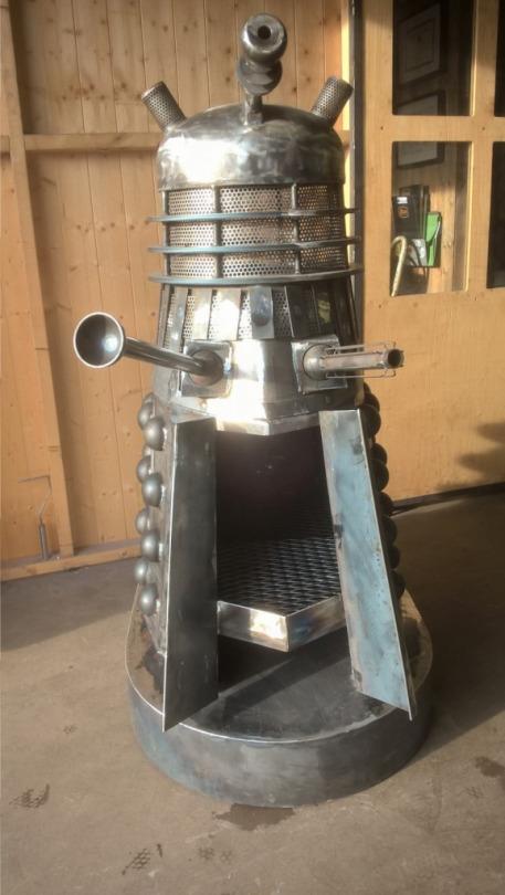 Dalek Woodburner 2
