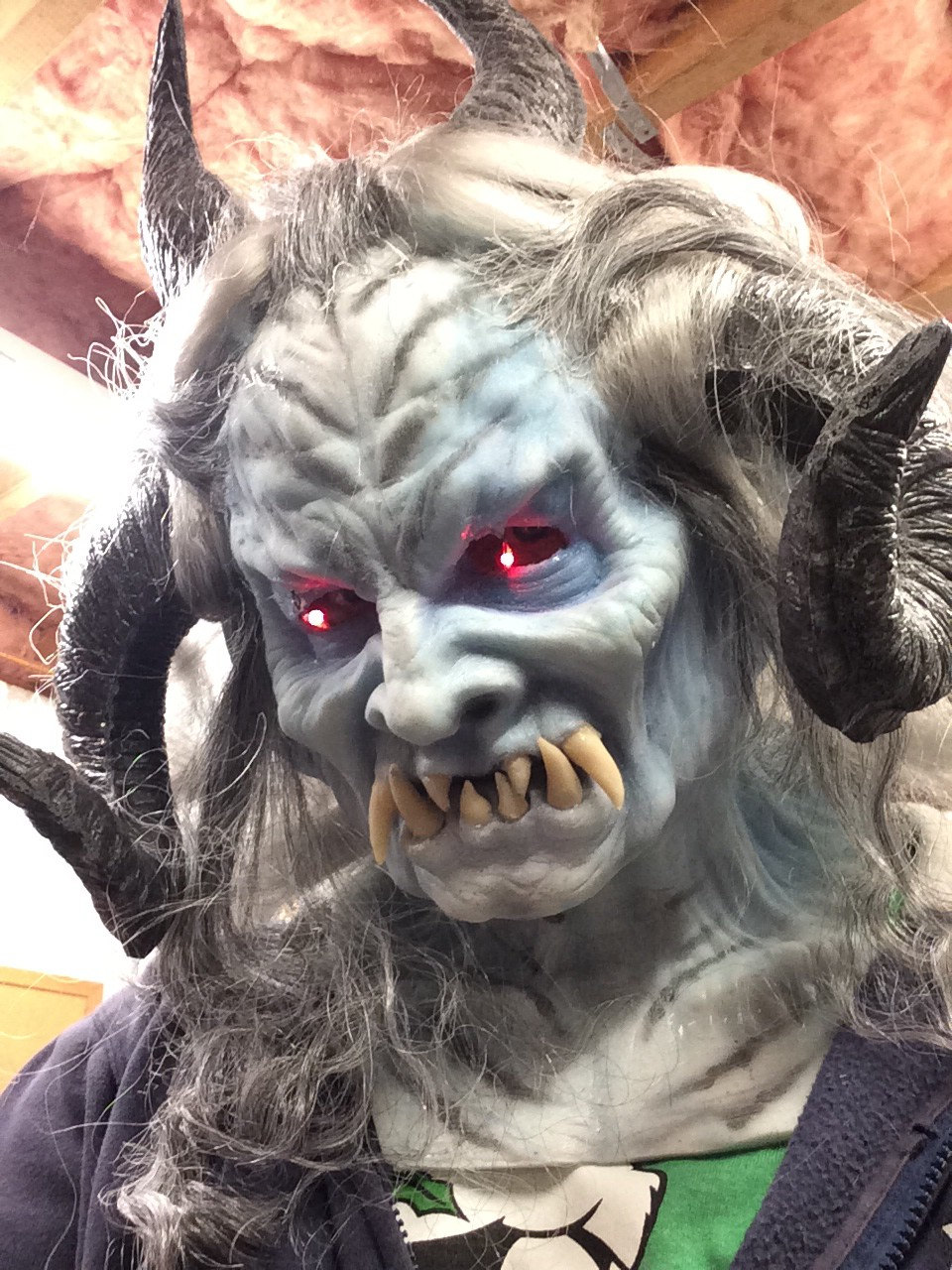 12 Masks of Halloween: #7 Ice Lord Krampus