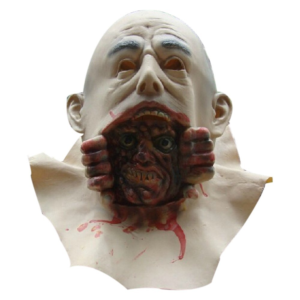 12 Masks of Halloween: #10 Bursting Head